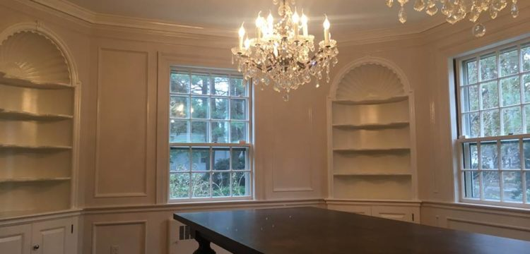 Dining room restoration Andover, MA